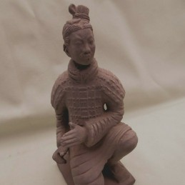 Statuette guerrier Chinois