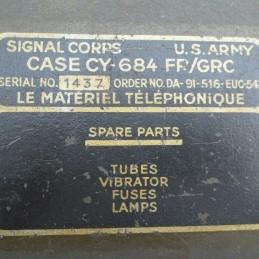 Matériel Téléphonique U.S Army