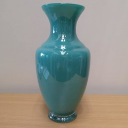 Vase turquoise