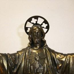 STATUE DU CHRIST EN CUIVRE...
