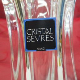 Vase en cristal de Sevres
